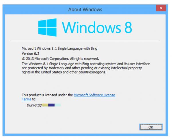 مرحله ۶ نحوه شناسایی نسخه ویندوز
