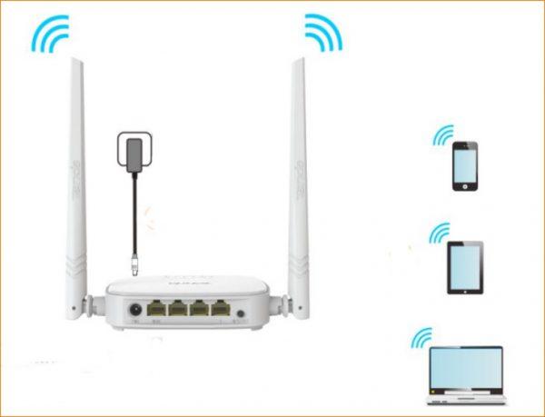 راه اندازی n301 از طریق تلفن همراه