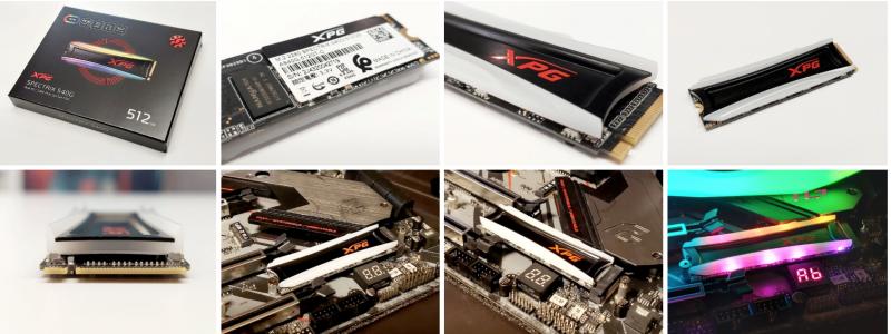 حافظه SSD M.2 مدل S40G ای دیتا