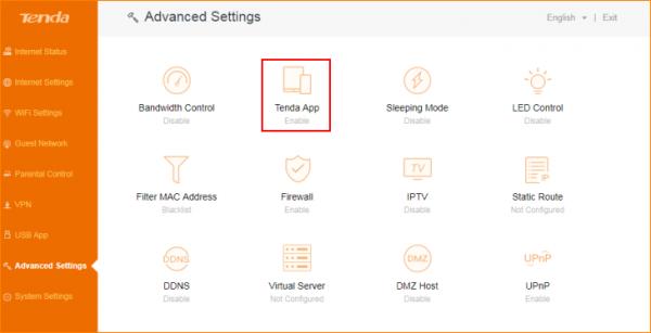 آموزش استفاده از نرم افزار Tenda