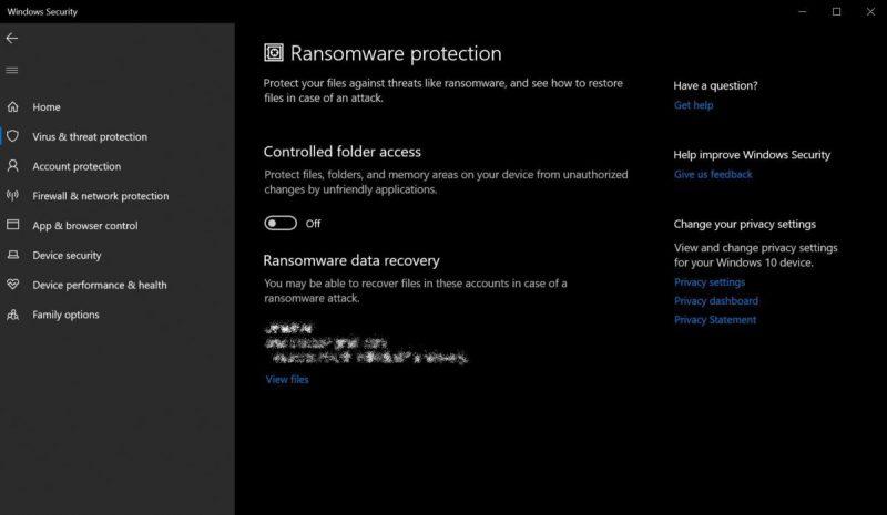 محافظت در برابر باج افزارها (Ransomware)