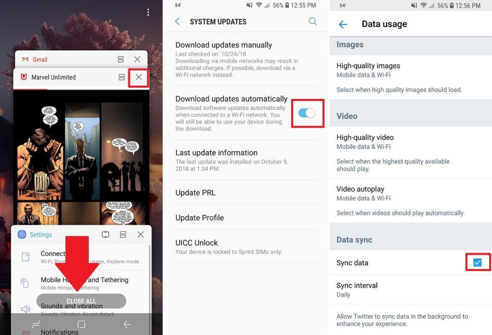 برای افزایش عمر باتری گوشی اندروید برنامه های اضافی را پاک کنید