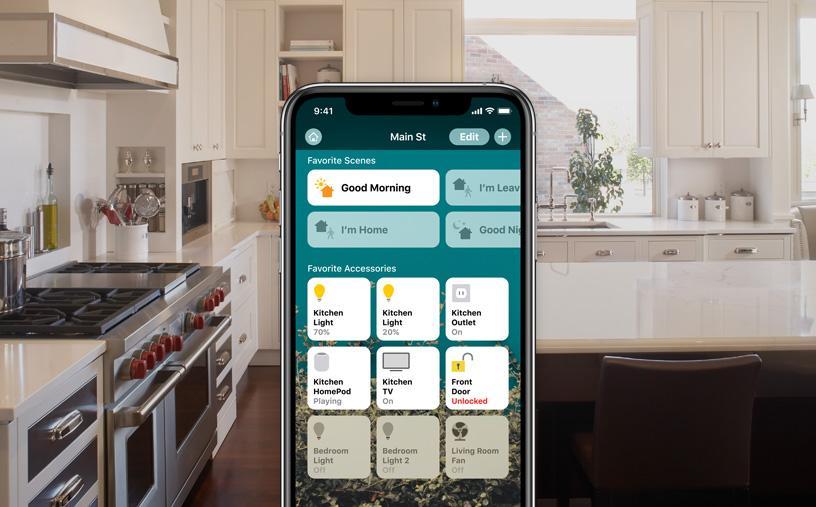 تجهیزات اصلی یک خانه هوشمند