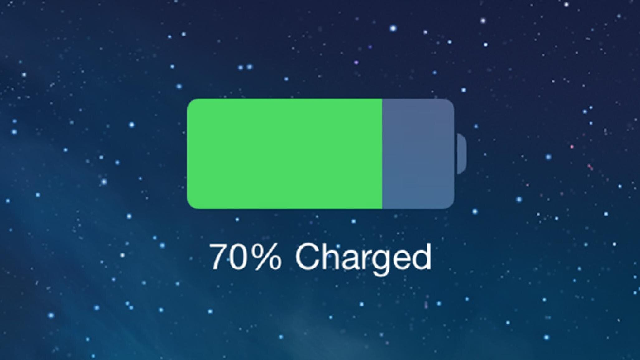 افزایش عمر باتری گوشی آیفون