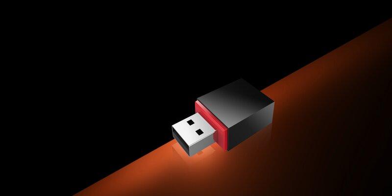 کارت شبکه USB وایرلس مدل U3 تندا