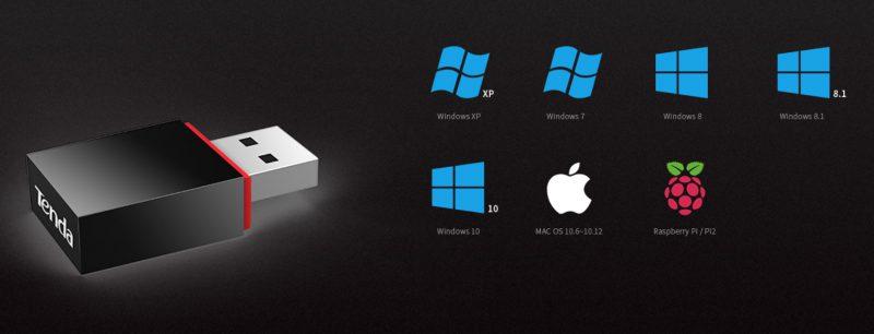 سازگاری U3 تندا با سیستم عامل های مختلف