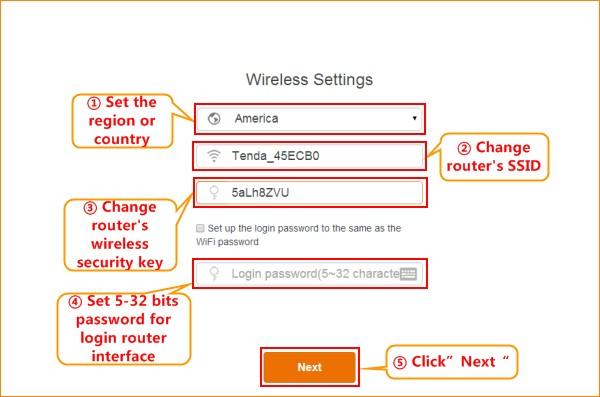 تنظیمات IP روتر تندا