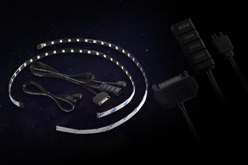 نصب راحت نوار LED RGB