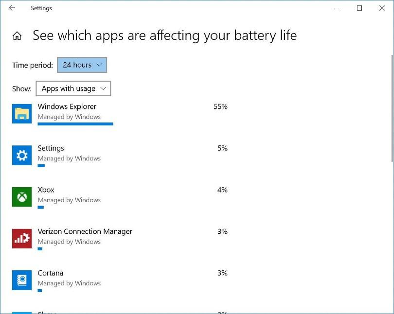 بستن برنامه های پر مصرف برای جلوگیری از خراب شدن باتری لپ تاپ