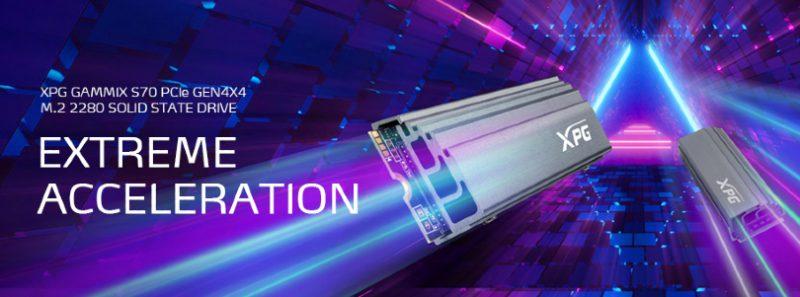 درایو اس اس دی فوق سریع XPG Gammix S70