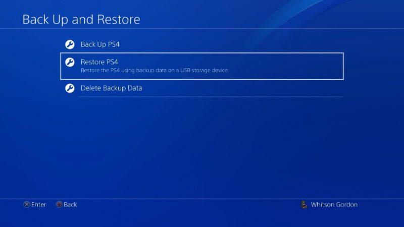 تعویض هارد PS4 با SSD : بازیابی اطلاعات و نصب بازیها