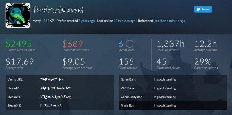 نمایش حساب کاربری خود در Steam را به صورت عمومی