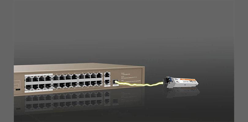 استفاده از ماژول TEG311SM در سوییچ tef1118p