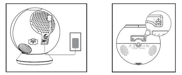 نصب دوربین کنترل کودک DCS-825L دی لینک