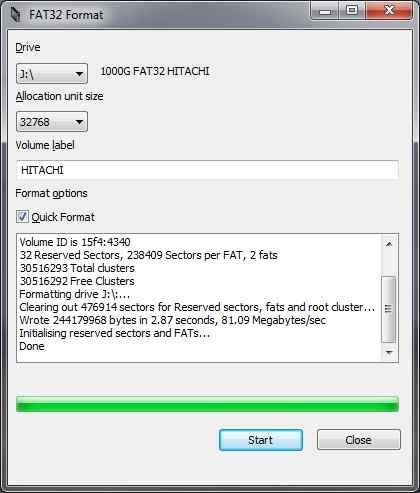 نرمافزار Fat32format