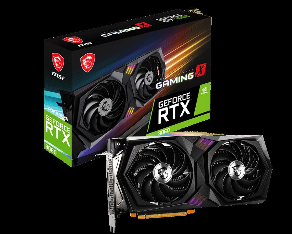 کارت گرافیک GeForce RTX 3060 GAMING X 12G
