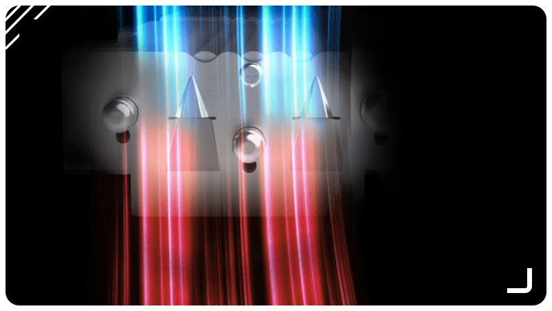تصویر انتقال جریان هوا در سیستم حرارتی کارت گرافیک RTX 3070