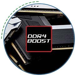 اورکلاک رم DDR4 BOOST شرکت MSI