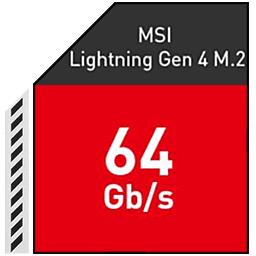 سرعت PCIe GEN 4.0