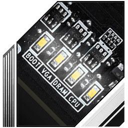 LED عیب یابی مادربرد