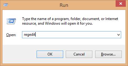 پنجره Run
