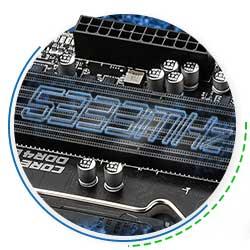 اسلات های RAM مادربرد Z590-A-PRO