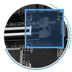 گیره های بزرگتر اسلات PCI-E XL CLIP