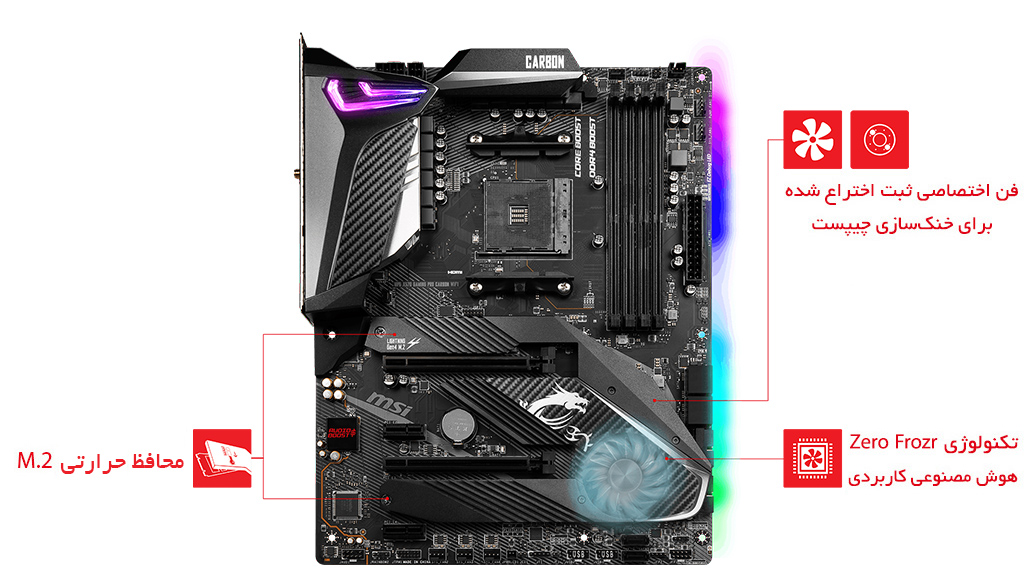 MPG X570 GAMING PRO CARBON WIFI