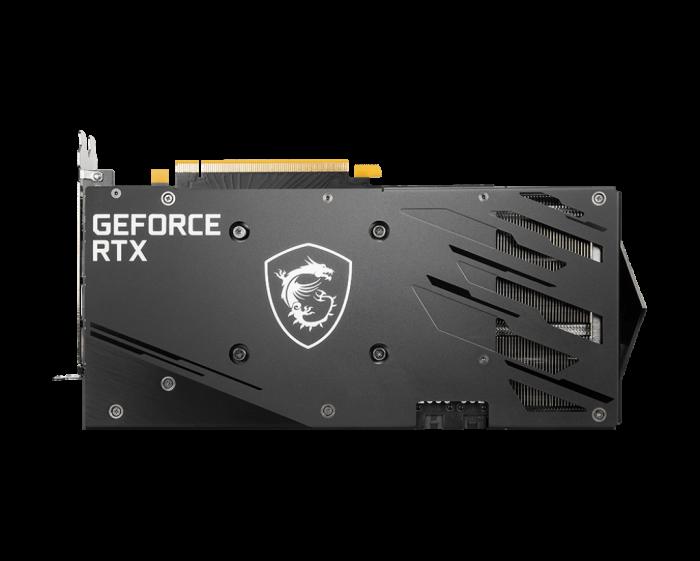 بک پلیت کارت گرافیک GeForce RTX™ 3060 Ti GAMING X 8G LHR
