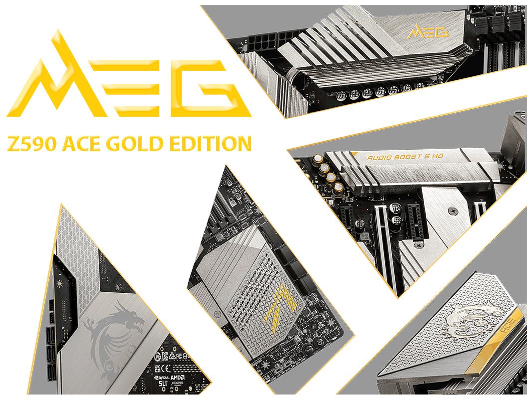 MEG Z590 ACE GOLD EDITION