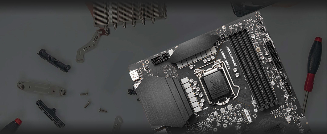 طراحی کاربر پسند مادربرد MSI Z590 PLUS