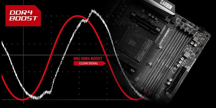 رم DDR4 با MPG X570 GAMING PRO CARBON WIFI
