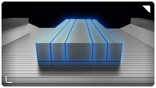 تصویر کانالهای جریان هوا برای حداکثر انتقال حرارت