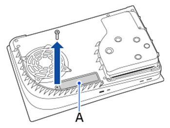 درآوردن کاور اسلات M.2 پلیاستیشن 5