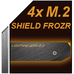 ۴ شیلد حرارتی M.2