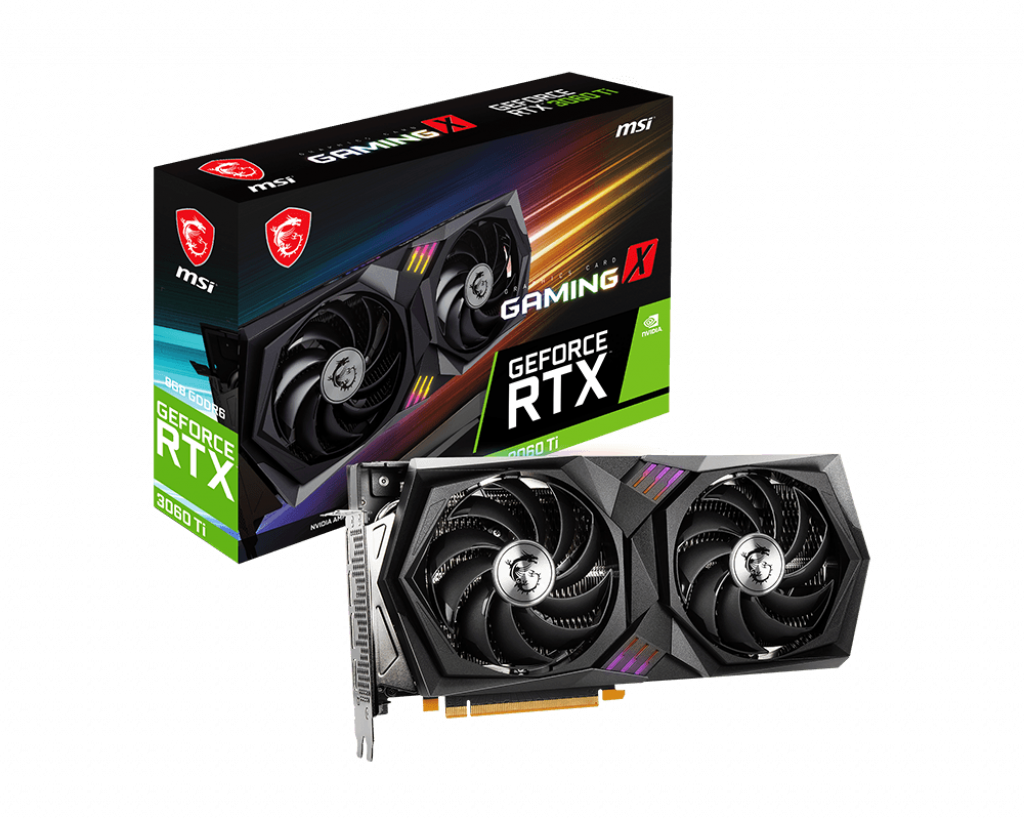 GeForce RTX™ 3060 Ti GAMING X 8G LHR همراه بسته بندی