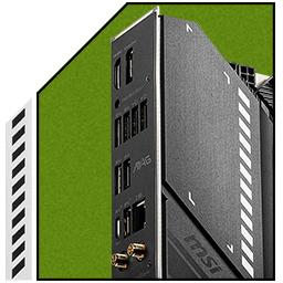شیلد I/O از پیش نصب شده