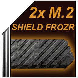 محافظ های حرارتی M.2 مادربرد