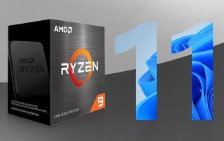 نصب ویندوز 11 بر روی کامپیوترهای با پردازنده AMD
